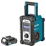 Makita DMR109 10.8v-18v LXT/CXT LI-ion Job Site Radio With BL1020B 10.8Ah Battery