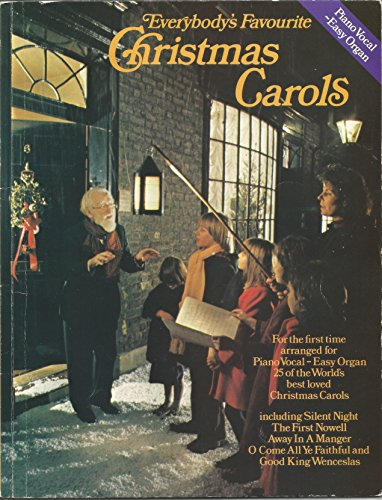 Everybody's Favourite Christmas Carols. Sheet Music for Piano, Vocal & Guitar(with Chord Symbols)