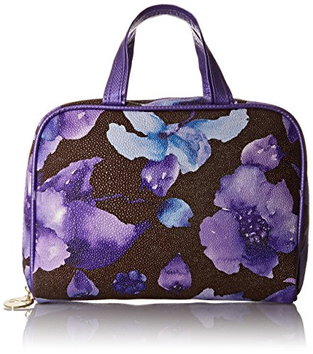 jessica-mcclintock-2pc-overnight-travel-set-convertible-clutch-lavender-decadence-floral-one-size