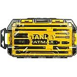 Stanley FatMax Mini-ToughBox Steckschlüssel-Zubehörset, 15-teiliges Set, FMHT0-74719