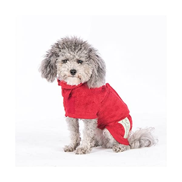 Ruff and Tumble Dog Drying Coat - Classic Collection 5