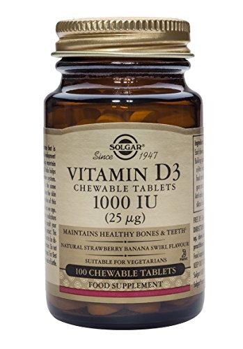 Solgar Vitamina D3-100 Tabletas