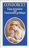 Image de Cinq mémoires sur l'instruction publique