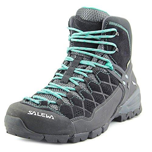 SALEWA WS ALP TRAINER MID GTX, Damen Trekking- & Wanderstiefel Black Out/Agata