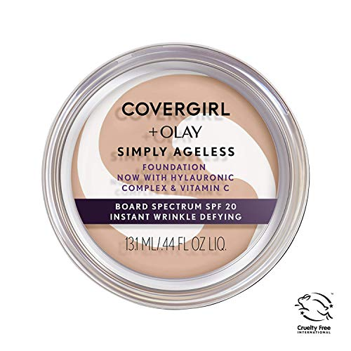 COVERGIRL - Olay Simply Ageless Foundation Natural Ivory - 0.4 oz. (12 g)