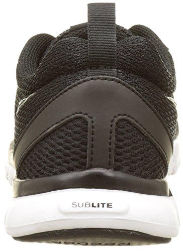 Reebok Sublite Sport, Scarpe da Corsa Uomo Multicolore (Black/White)