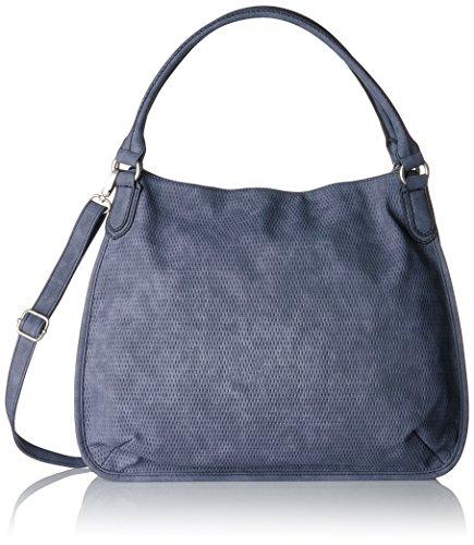 s.Oliver (Bags) - 39.707.94.5809, Borse a secchiello Donna Blu (Smokey Blue)