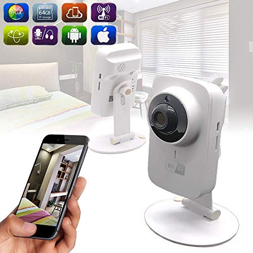 Tookne Baby-Monitore mit Camera/Night Vision Wireless WiFi Indoor Security Video & Audio Monitor
