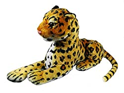 A-Mart soft toy leopard for car kids girls home decor 12 inch medium