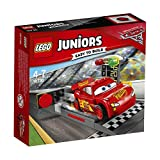 LEGO - Juniors - Le propulseur de Flash McQueen - 10730 - Jeu de Construction
