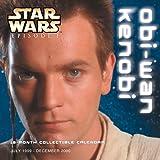 Star Wars Episode I: Obi-Wan Kenobi 18 Month Collectible Calendar July 1999-December 2000