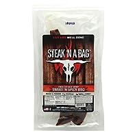 Runnin Wild Foods 5850021 Steak N A Bag Thick Cut Sweet N Spicy Bbq