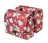 Basil Damen Magnolia S Fahrradtasche, Poppy Red, 32 x 17 x 8 cm