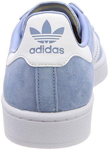 Adidas Herren Campus Gymnastikschuhe Türkis (cenere Blu S18 / Ftwr Bianco / Ftwr Bianco)