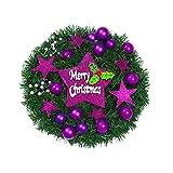 VHVCX Weihnachtskranz Dekoration Shop Und Tür Und Fenster Glas Schiebetür Tapete Weihnachtsaufkleber Weihnachtskranz Fenster Blume Grill Schneeflocke Aufkleber