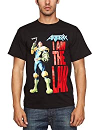 Loud Distribution Anthrax - I Am Law Men's T-Shirt