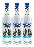 Sparset: 3 Flaschen Ouzo Loukatos 700-ml ( 3 x 700-ml )