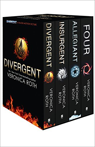 Divergent Series Box Set - Books 1-4 por Veronica Roth