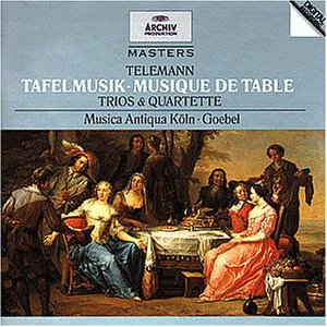 Archiv Masters - Telemann (Tafelmusik)