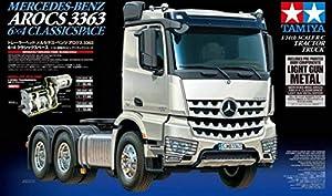 Tamiya Arocs 3363 6X4 On-Road Truck 1:14 - Vehículos de Tierra por Radio Control (RC) (On-Road Truck, 1:14, Kit de Montaje, Gris, Aluminio, 4 Canales)