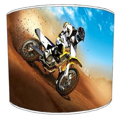 Premier–Abat-Jour Plafond Suzuki Motocross Bike Abat-jour,