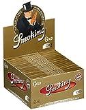CARTINE SMOKING SLIM GOLD KING SIZE 1 BOX 50 LIBRETTI