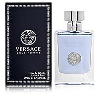 Versace Pour Homme by Versace for Men -   Eau de Toilette, 50ml