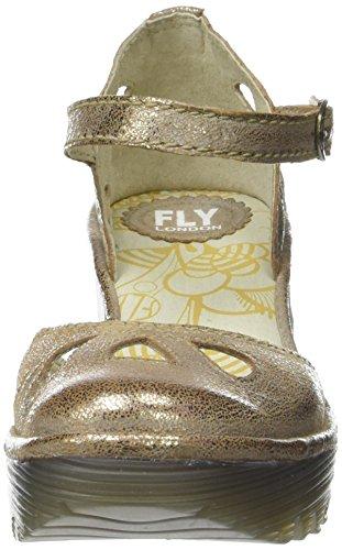 Fly LondonYuna - Scarpe con Tacco donna Argento (luna 129)