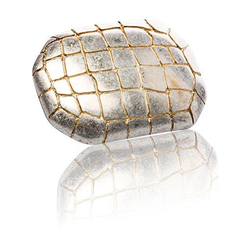 Frederic+Hermano Gürtelschnalle Buckle 40mm Metall Gold Antik - Buckle Cocco - Dornschliesse Für...