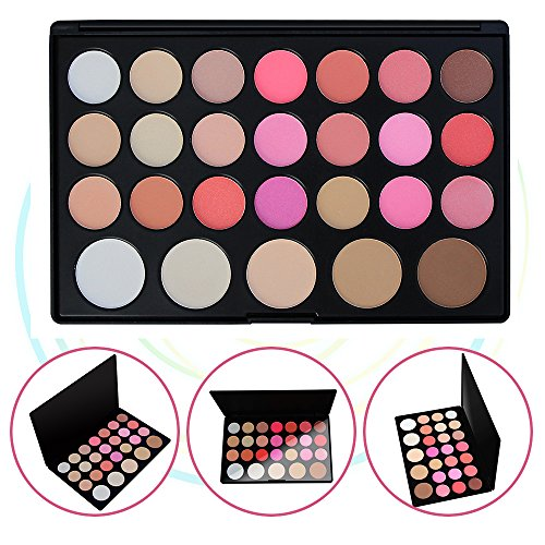 Lidschatten Augen Schatten Palette Make-up Kit Set Make Up Professional Box, KRABICE Ultra Flawless 26 Lidschatten Palette (Chic-computer-taschen)