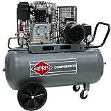 Airpress® compressore ad aria compressa, 3 CV, 2,2 kW, 10 bar, 100 litri, caldaia 400 V, compressore a pistone HK 425-100