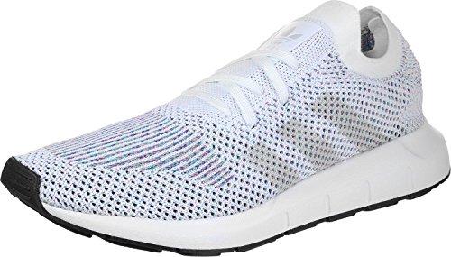 adidas Unisex-Erwachsene Swift Run Primeknit Sneaker weiß meliert