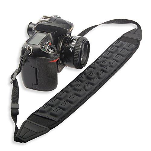 B & Y stoßdämpfendem gepolstert Dämpfung Kamera Riemen mit Quick Release (Leder Flag Rebel)