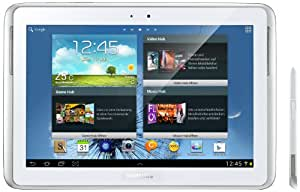 """Samsung Note 10.1 Tablette Tactile 10.1"""" Android 4.0 Blanc"""