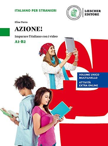 Azione! Imparare l'italiano con i video. Livello A1-B2. Con espansione online