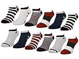6 oder 12 Paar Damen Sneaker Socken Maritim Damensocken Ringel Punkte Muster - 36737 - sockenkauf24