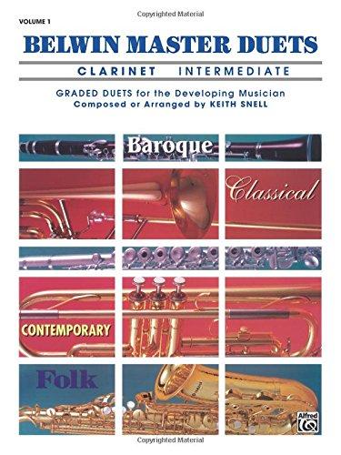 Belwin Master Duets, Clarinet, Intermediate