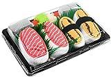 Photo de Rainbow Socks - Femmes Hommes - Sushi Chaussettes Saumon Tamago - 2 Paires par Sushi Socks Box