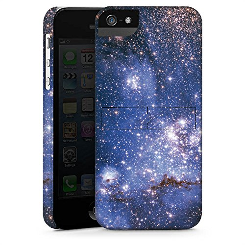 Apple iPhone X Silikon Hülle Case Schutzhülle Galaxy Muster Space Premium Case StandUp