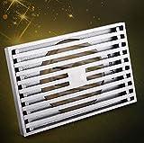 KHSKX Moderne minimalistische Bad Abfluss Bodenablauf Abfluss, voll Kupfer rechteckigen Grundriss vier-Geruch-Beweis