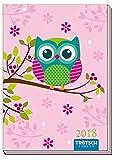 Taschenkalender A7 Eule 2018