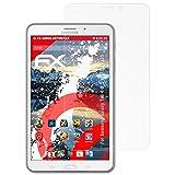 atFoliX Samsung Galaxy Tab 4 8.0 LTE/3G T335 Anti-Shock Pellicola protettiva - 2 x FX-Shock-Antireflex antiabbagliamento ammortizzante Protettiva di Schermo alta Protezione