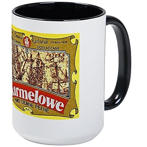 CafePress - Poland Beer Label 4 - Coffee Mug, Large 15 oz. White Coffee Cup