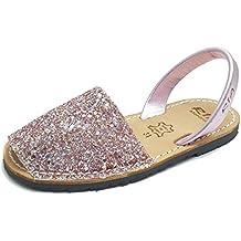 c1acdbea Ria Zapatos Niña Menorquinas Avarcas 21724 Rosa