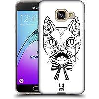 Head Case Designs Monsieur Chats Imprimés 2 Étui Coque en Gel molle pour Samsung Galaxy A3 (2016)
