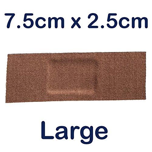Steroplast 100x STEROFLEX echtes Flexibles Stretch Stoff Erste Hilfe Wunde Pflaster groß 7,5cm x 2,5cm -