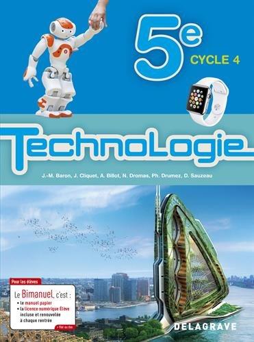 Technologie 5e : Elève bimanuel