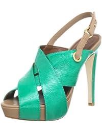 Miezko Adua BP1238A - Sandalias de cuero para mujer