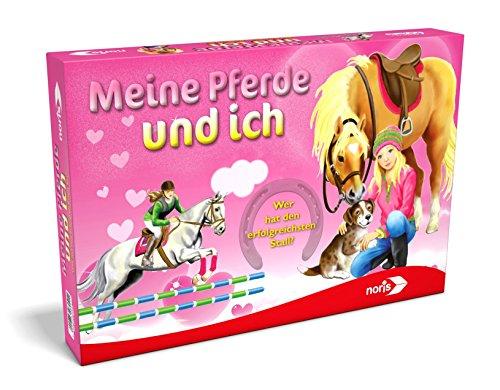 Noris 606018041 606018041-Meine Pferde Und Ich, Brettspiel