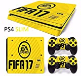 PS4 Skin Slim FIFA 17 Cover PS4 Sticker Aufkleber Skin-Controller
